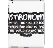 Astronomy  iPad Case/Skin