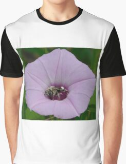 Bee in a Flower Graphic T-Shirt