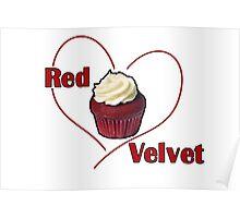 Red Velvet Cupcake Poster