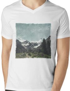 High Valley  Italian Alps Mens V-Neck T-Shirt
