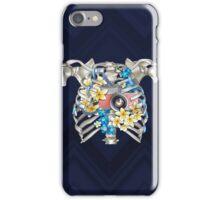 Skeleton_heart camera iPhone Case/Skin