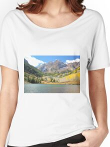 The Maroon Bells I Women's Relaxed Fit T-Shirt