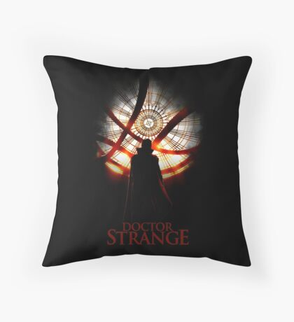 The Doctor of Strangeness Throw Pillow