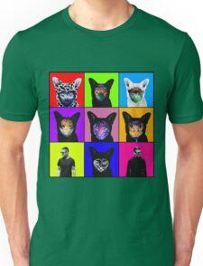GALANTIS SEAFOX FAMILY POP ART Unisex T-Shirt