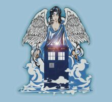 The angel has a phone box Baby Tee