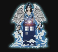 The angel has a phone box Kids Clothes