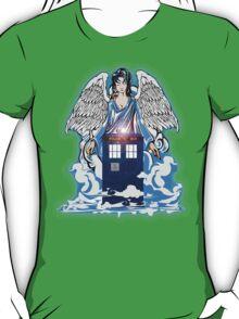 The angel has a phone box T-Shirt