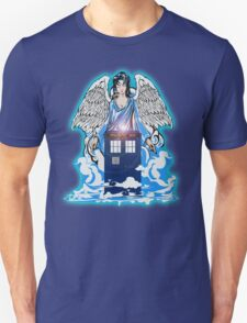 The angel has a phone box Unisex T-Shirt