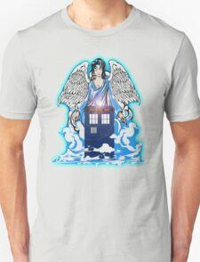 The angel has a phone box Unisex T-Shirt