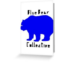 Blue Bear Collective Greeting Card