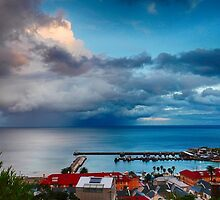 Kalk Bay Harbour by James  Luccarda