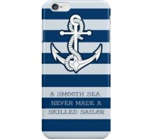 Anchor 2 skilled Sailor iPhone Case/Skin