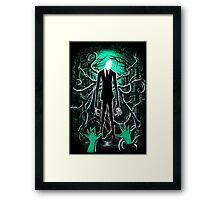 Slender Man 01 Framed Print
