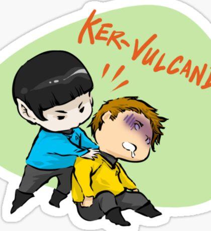 Vulcan'd! Sticker