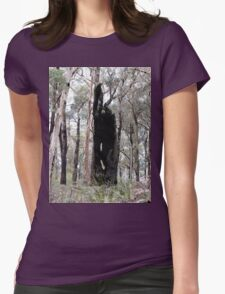 Empty Tree Womens Fitted T-Shirt