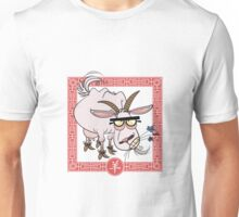 Chinese Astrological Sign Goat Unisex T-Shirt