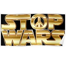 Star Wars Parody - Stop Wars  Poster