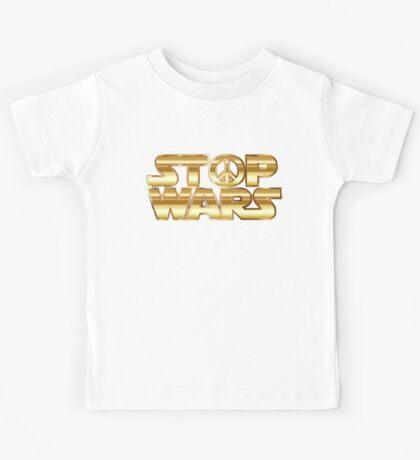 Star Wars Parody - Stop Wars  Kids Tee