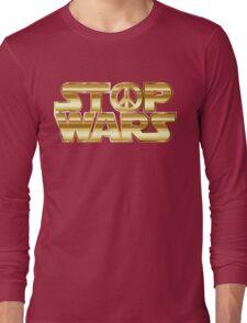 Star Wars Parody - Stop Wars  Long Sleeve T-Shirt