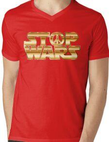 Star Wars Parody - Stop Wars  Mens V-Neck T-Shirt