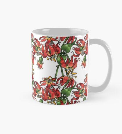 Flame Lilies Mug