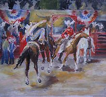 Texan Rodeo by Barbara Pommerenke