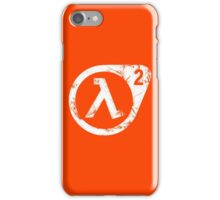 HL2 White iPhone Case/Skin