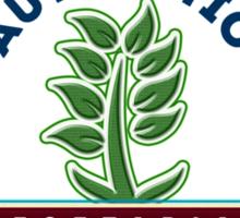 Authentic Vegetarian Sticker