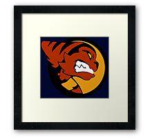Galactic Ranger Ratchet Framed Print