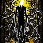 Slender Man 02 by Crab-Metalitees