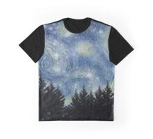 Star Night Graphic T-Shirt