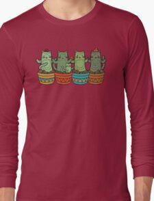 Catcus Garden Long Sleeve T-Shirt