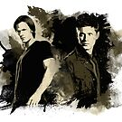 Sam & Dean by beanzomatic