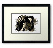 Sam & Dean Framed Print