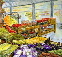 Farmer's Market In Fort Worth, Texas by Barbara Pommerenke