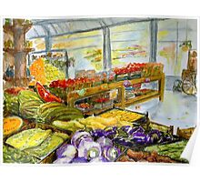 Farmer's Market In Fort Worth, Texas Poster