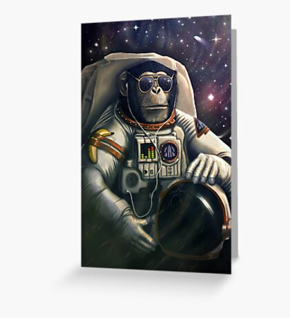 Space Farer Greeting Card
