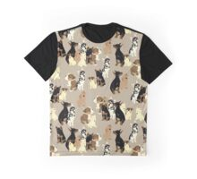 Puppy Party Graphic T-Shirt
