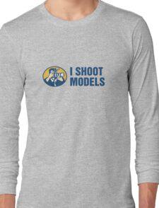I Shoot Models Long Sleeve T-Shirt