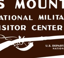 Kings Mountain National Military Park Sticker