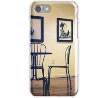 Antique table iPhone Case/Skin