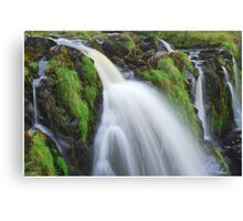 Waterfall..The Loup (Leap) of Fintry Canvas Print