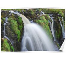 Waterfall..The Loup (Leap) of Fintry Poster