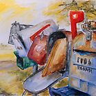 Mailboxes In Texas by Barbara Pommerenke