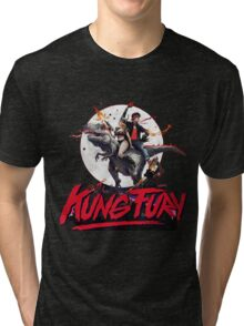 Kung Fury Clasic Movie Tri-blend T-Shirt