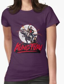 Kung Fury Clasic Movie Womens Fitted T-Shirt