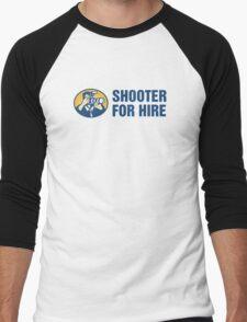 Shooter For Hire Men's Baseball ¾ T-Shirt