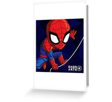 Spiderman Chibi Greeting Card