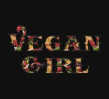 Vegan Girl by T-ShirtsGifts