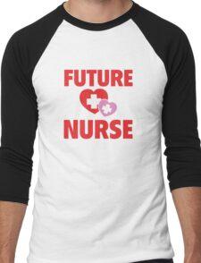 Future Nurse Men's Baseball ¾ T-Shirt